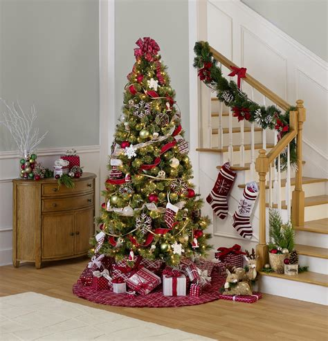 complete christmas tree trimming kit by 87 complete tree trim kit merry theme