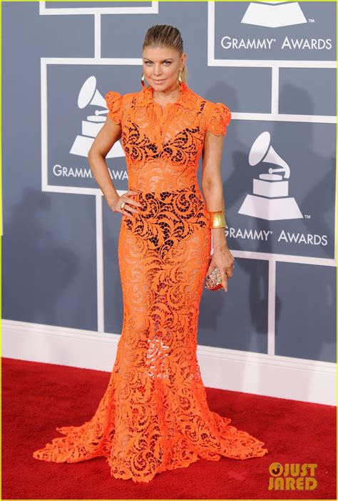 Grammy Awards Fergie by Fergie Grammys 2012 Carpet Photo 2628181 2012