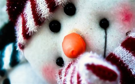 Cheerful Snowman Wallpapers And Images Wallpapers