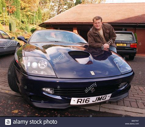 lottery winner buys house john mcguinness lottery winner november 1997 scottish millionaire stock photo royalty