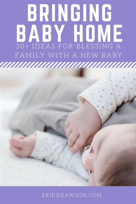 bringing home baby 30 ways to help a new