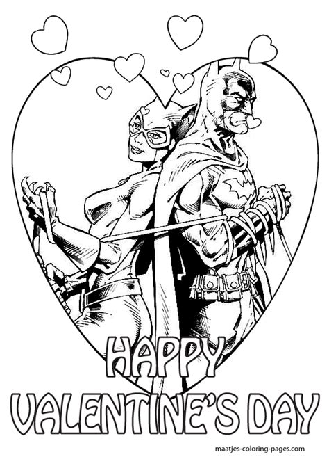 batman valentine coloring pages batman valentines day coloring pages for kids