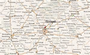 map of roswell roswell location guide