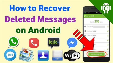 how to restore deleted messages on android how to recover deleted messages on android mobile