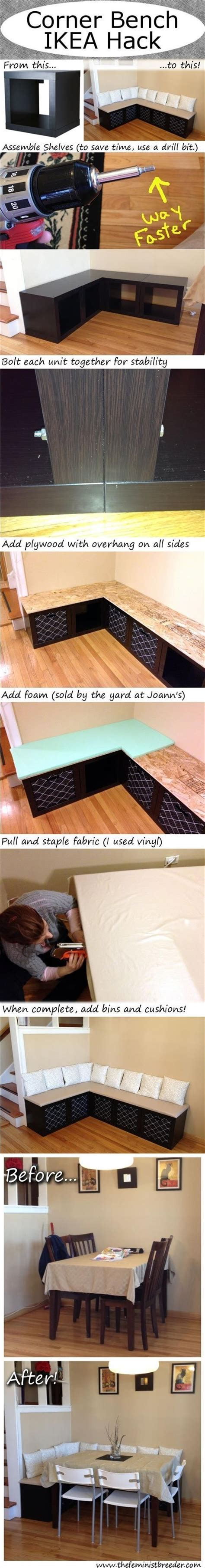 ikea corner bench hack corner bench ikea hack pictures photos and images for