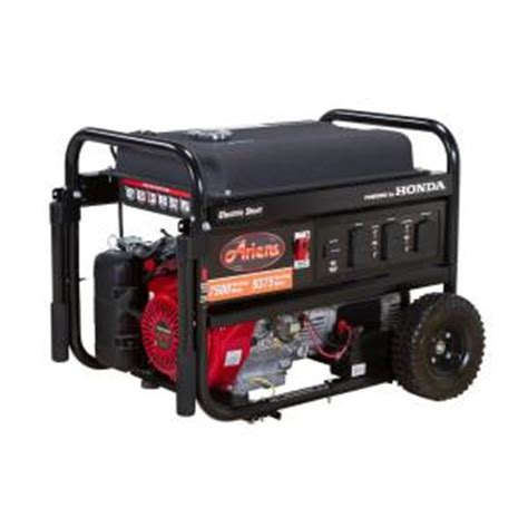 ariens 7500 watt gasoline powered electric start portable