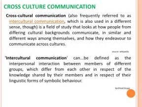 Culture Affect Communication Essay by Cross Cultural Communication In Business World