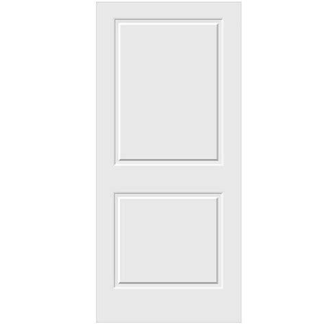 Primed Doors Interior Jeld Wen 36 In X 80 In Primed C2020 2 Panel Solid Premium Composite Interior Door Slab