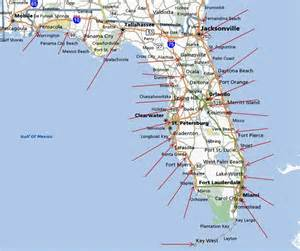 florida gulf coast map