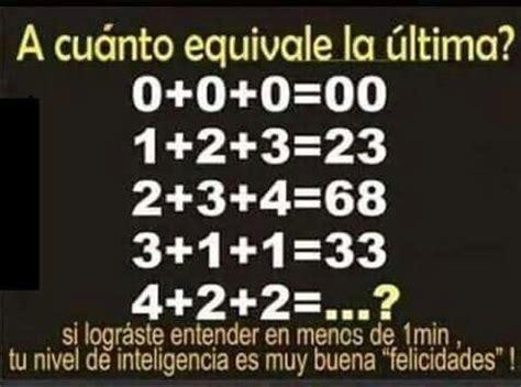 imagenes mentales con respuesta acertijo matem 225 tico maths pinterest
