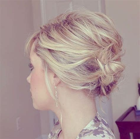 messy updos for fine hair 12 short updo hairstyles ideas anyone can do popular