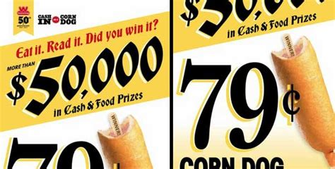 Dog Sweepstakes - wienerschnitzel s 50 000 quot cash in on a corn dog quot sweepstakes