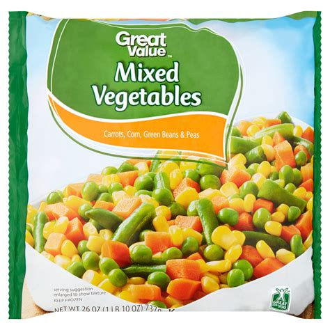 Mixed Vegetables canned mixed vegetables nutrition facts