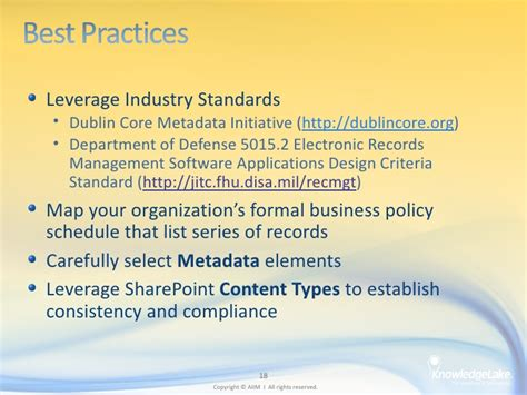 design criteria standard for electronic records management sharepoint 2010 ecm the best practices of organizing and