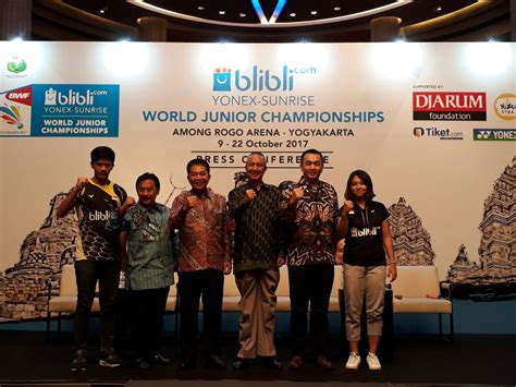 blibli wjc 2017 blibli com yonex sunrise bwf world junior chionship