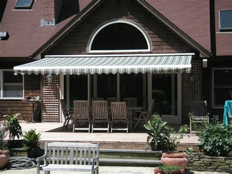 retractable window awnings for home patio awnings