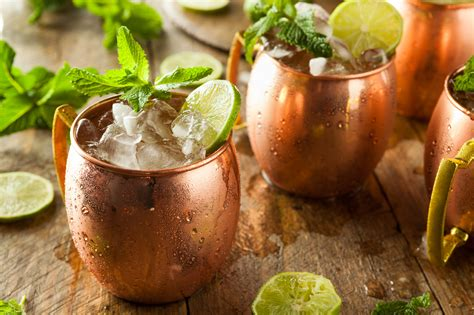 moscow mule moscow mule das perfekte rezept f 252 r den ginger beer cocktail
