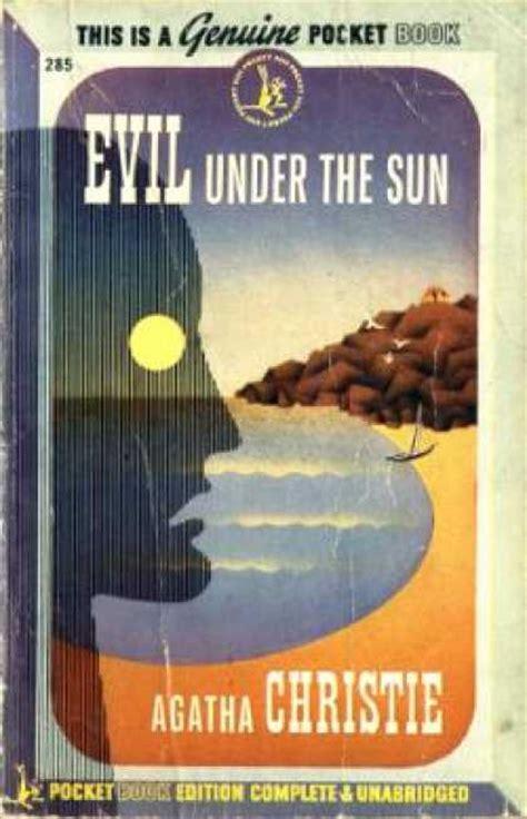 Evil The Sun Agatha Christie pocket book covers 1400 1449