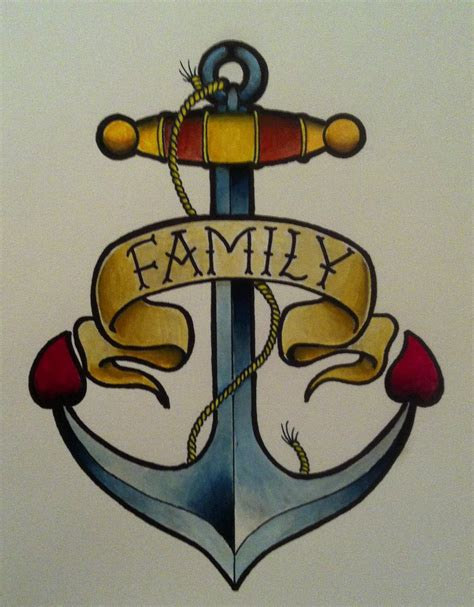 traditional anchor tattoo neo traditional anchor by blobsnsquiggles on deviantart