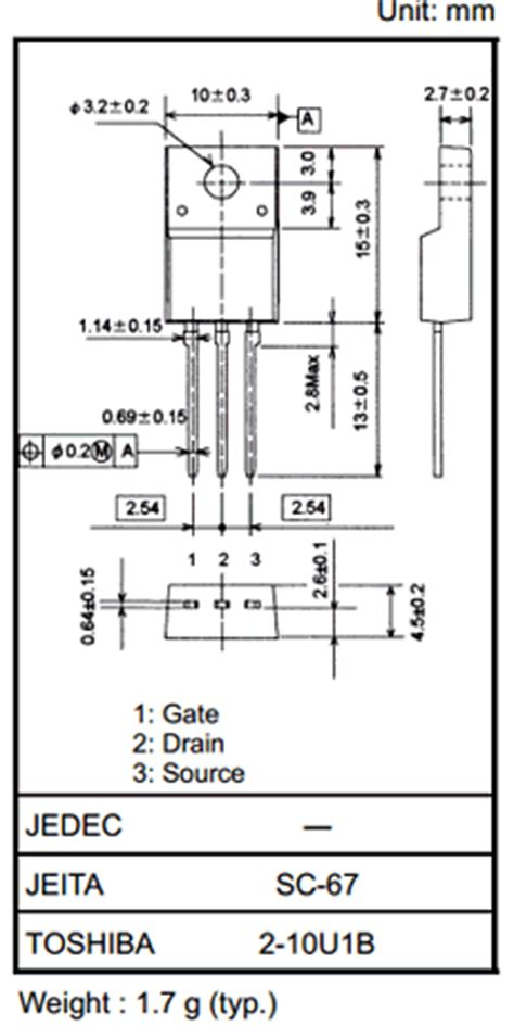 transistor mosfet canal n datasheet k3568 datasheet pdf n channel mosfet toshiba