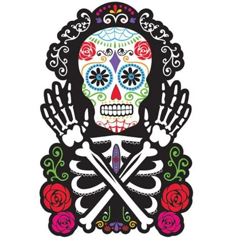 imagenes de calaveras mexicanas infantiles silueta calavera mexicana