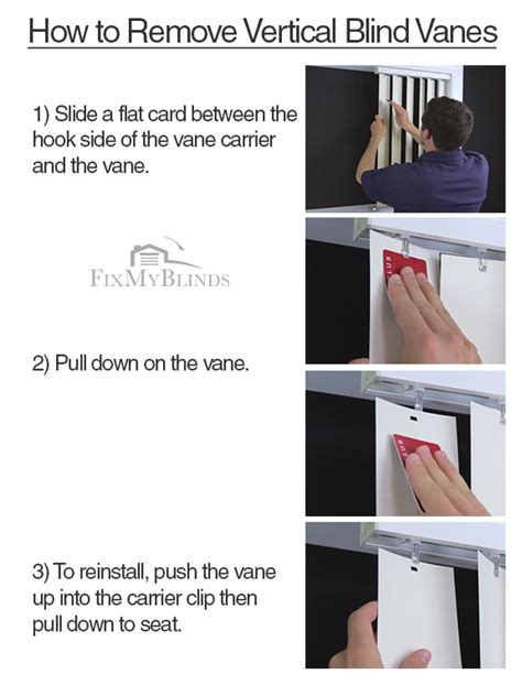 How To Remove Vertical Blind Slats blind repair on 19 pins
