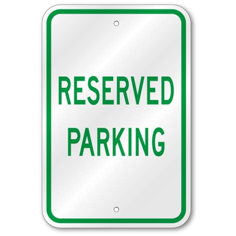 reserved parking signs template reserved parking sign template customize parking spot