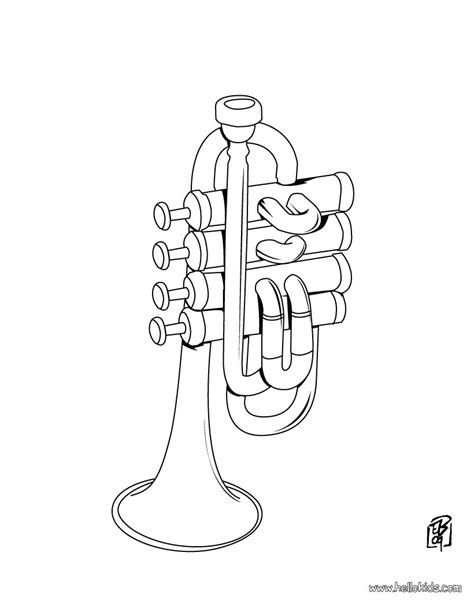clever design tuba coloring page artsybarksy