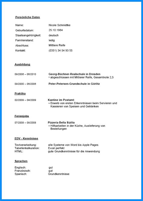 Lebenslauf Vorlage Praktikum 8 Klasse 8 Lebenslauf Praktikum Business Template