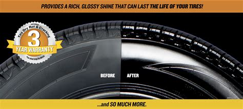 Tire Shine permagloss permanent tire protectant permanent tire shine