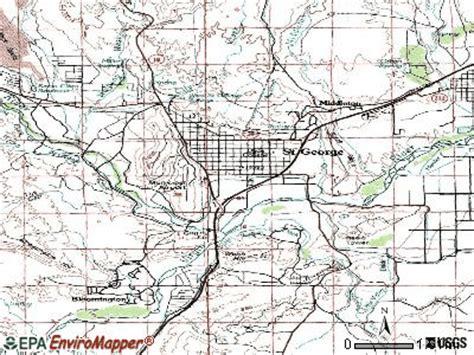 map of st george utah st george utah ut 84780 84790 profile population