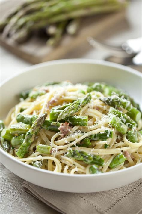 Forward Side Sauted Asparagus With Pancetta by Asparagus Pancetta And Parmesan Linguine With