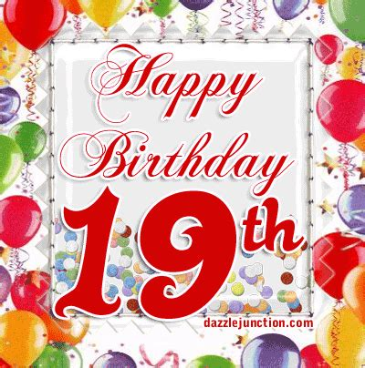 Happy 19th Birthday Wishes Its My 19th Birthday Today