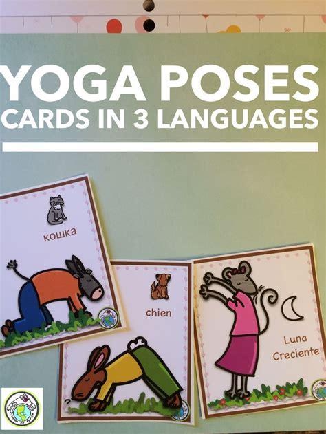 yoga tutorial spanish 247 best spanish for kids images on pinterest teaching