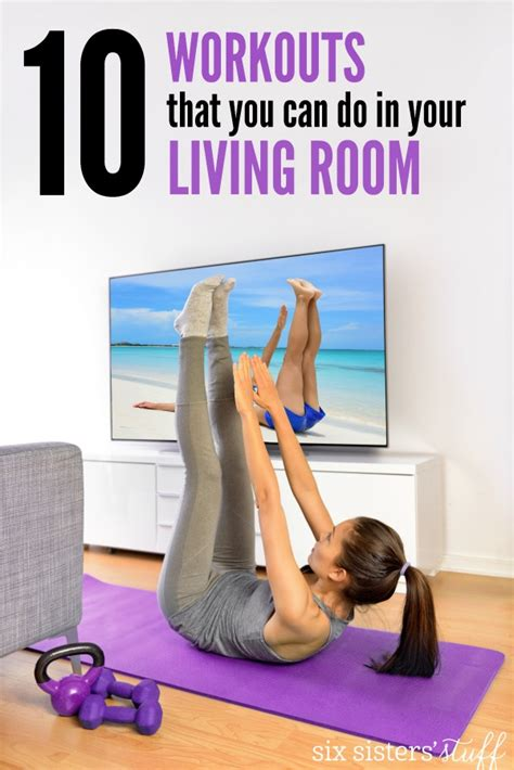 workouts to do in your room 10 workouts you can do in your living room six stuff