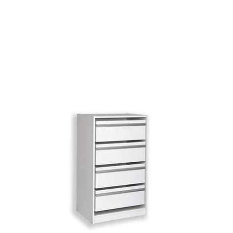 multi store 1035 x 608 x 450mm 4 jumbo drawer wardrobe insert