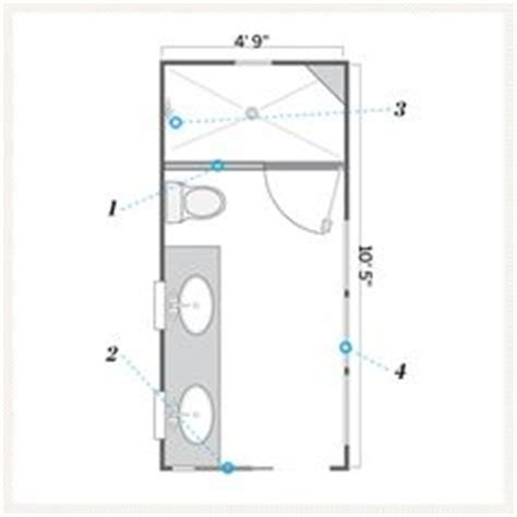 bathroom floor plans 5 x 10 1000 ideas about small bathroom layout on pinterest