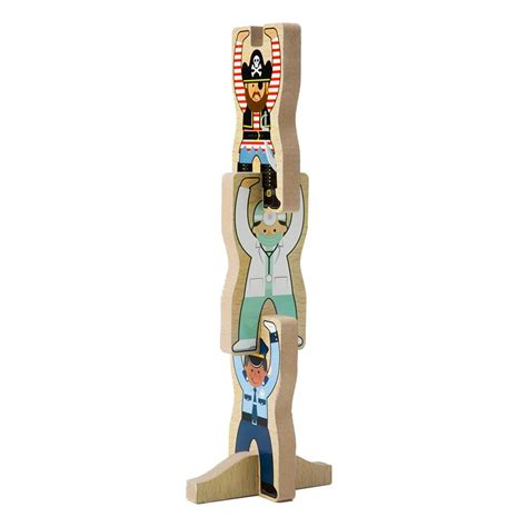 atham toys puzzle chunky angka 0 9 occupations stacking chunky puzzle educational toys planet