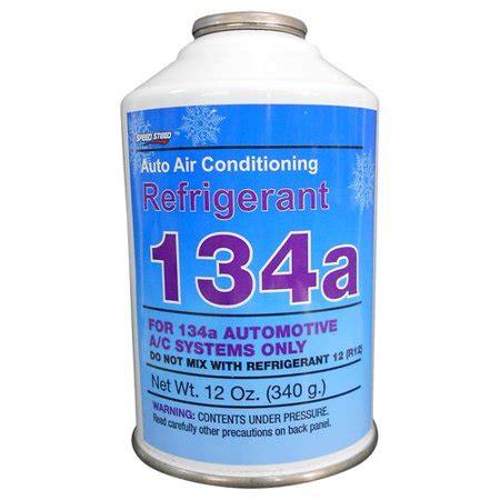 speed steed   auto air conditioning refrigerant