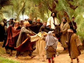 Sunday is the day we call palm sunday the day of the triumphal entry