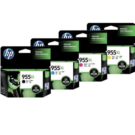 Hp 955xl Black Ink Cartridge L0s72aa Original hp 8 pack 955xl bundle genuine ink l0s63 66 69 72aa icartridge