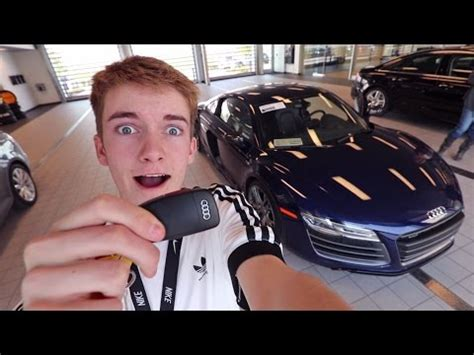 audi r8 tanner it s finally happening youtube