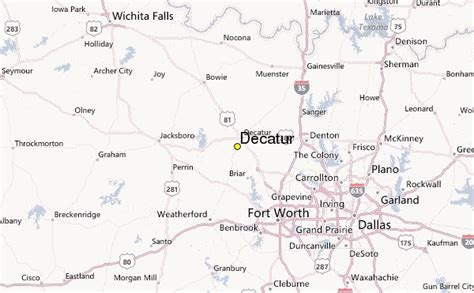 map of decatur texas decatur weather station record historical weather for decatur texas