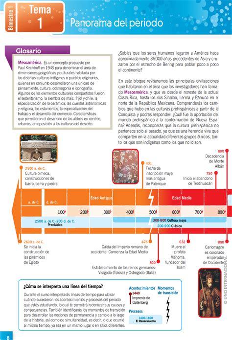 imagenes del libro de historia del bloque 4 educaci 211 n aprendizaje y ense 209 anza materia de historia ii