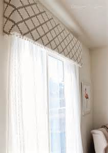 Upholstered Cornice Window Treatments 15 Original Ways To Customize Your Window Treatments