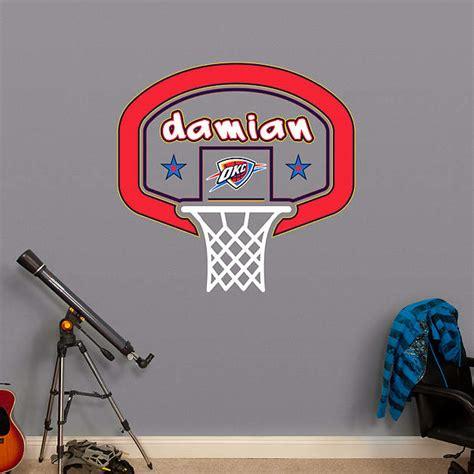 okc thunder room decor oklahoma city thunder personalized name wall decal shop fathead 174 for wall d 233 cor