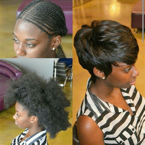 pixie style weave styles pixie cut sew in put all that hair away to a flat