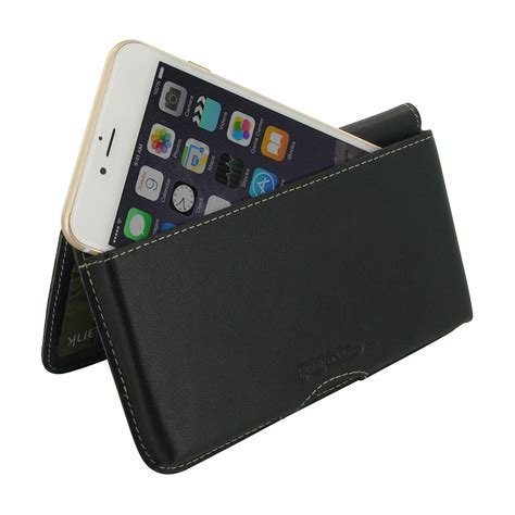 Iphone 7 Plus Leather Black iphone 7 plus leather wallet pouch black pdair