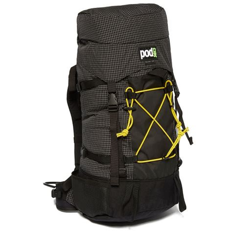 arete tuban classic pouch in iron rab backpacks