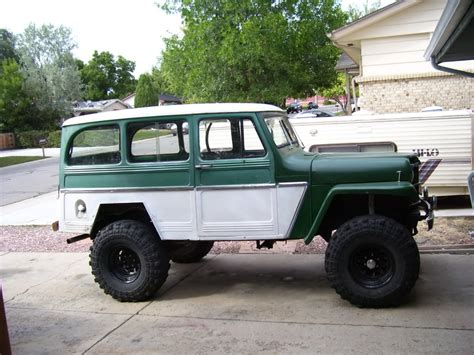 jeep station wagon lifted jeep willys lifted image 165
